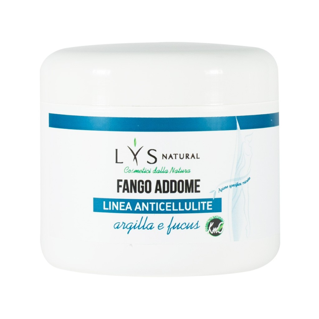 Lys Natural Fango Anticellulite Naturale e Vegan Addome
