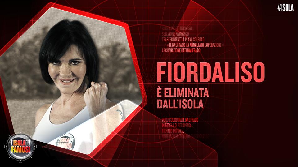 Al televoto contro Alessia Reato e Gianluca Mech, la Fiordaliso viene accontentata dal pubblico che la fa tornare a casa.