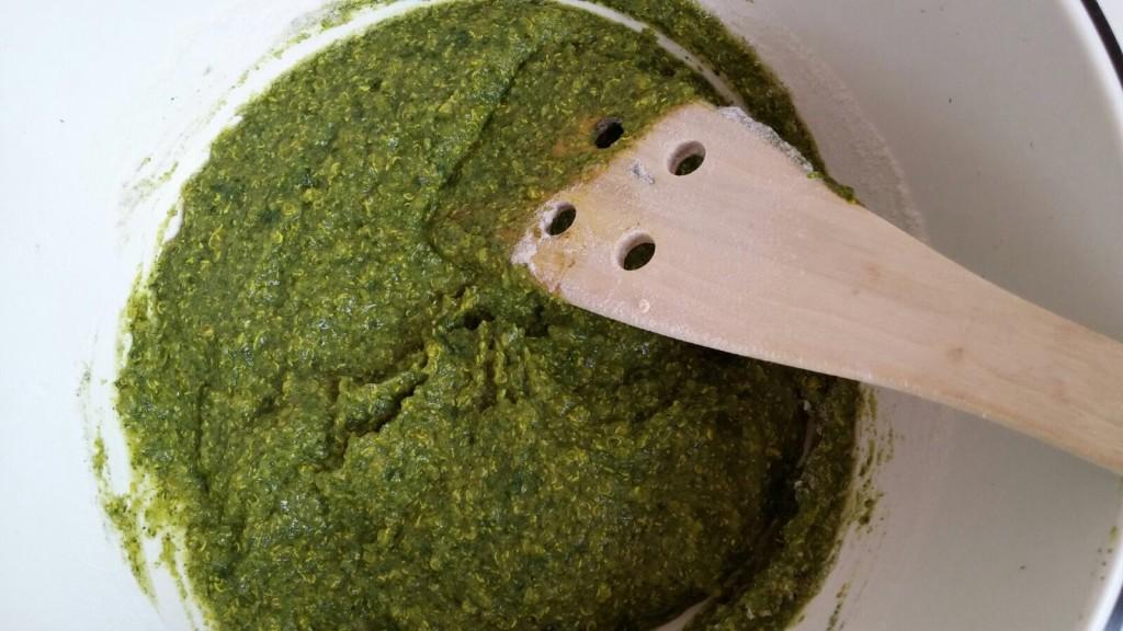 Gnocchetti di quinoa e spinaci