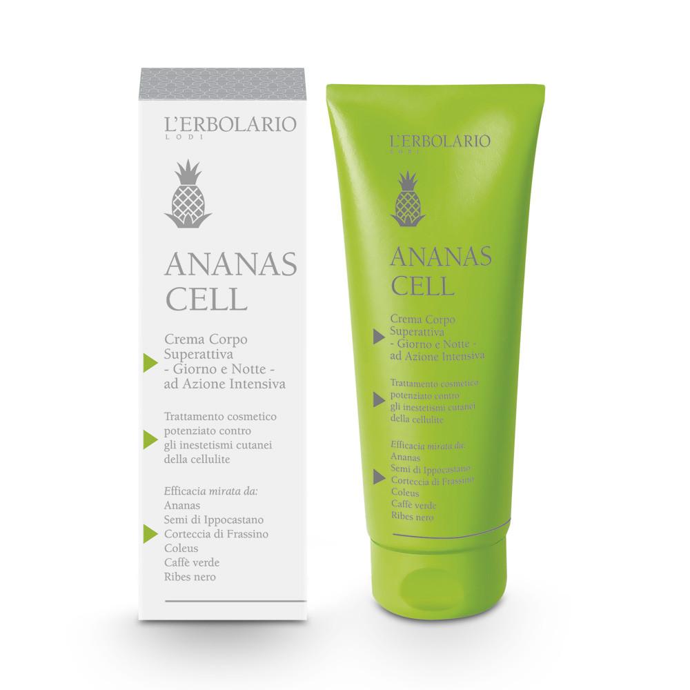 14) Crema Corpo Superattiva - Ananas Cell - Corpo, Crema Corpo, Rassodante / Anticellulite, Trattamento Corpo - L'Erbolario