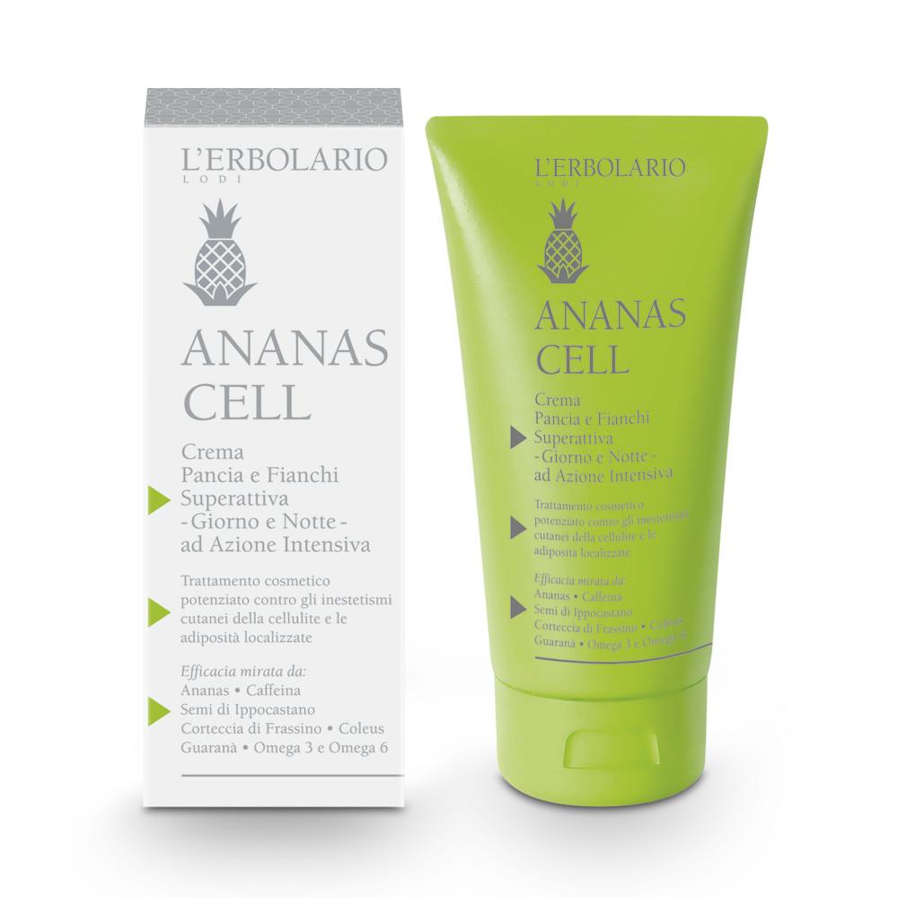 L'Erbolario Crema Pancia e Fianchi Superattiva - Ananas Cell