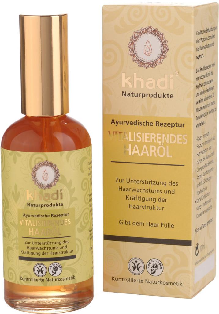 8) Khadi® Olio Rivitalizzante per Capelli