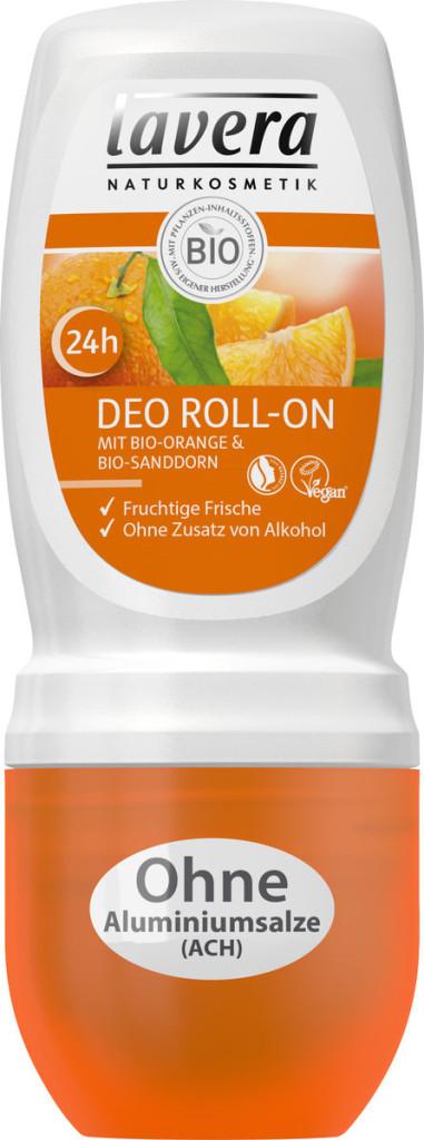 3) Deo Roll-on con Arancia Bio & Olivello Spinoso Bio