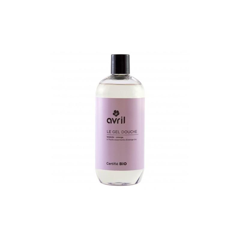 1) Avril Lavender & Orange Shower Gel