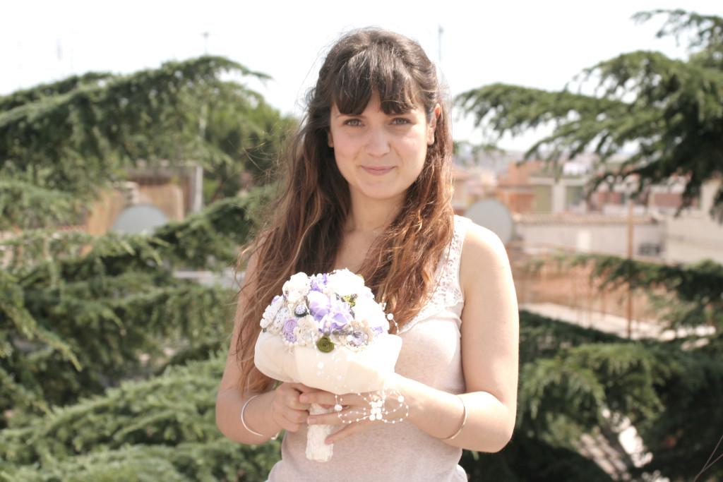 Sara, la bouquet designer di Trilli e Gingilli