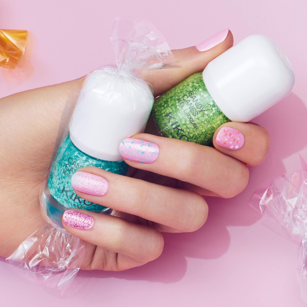 Nail art Kiko Candy Nails