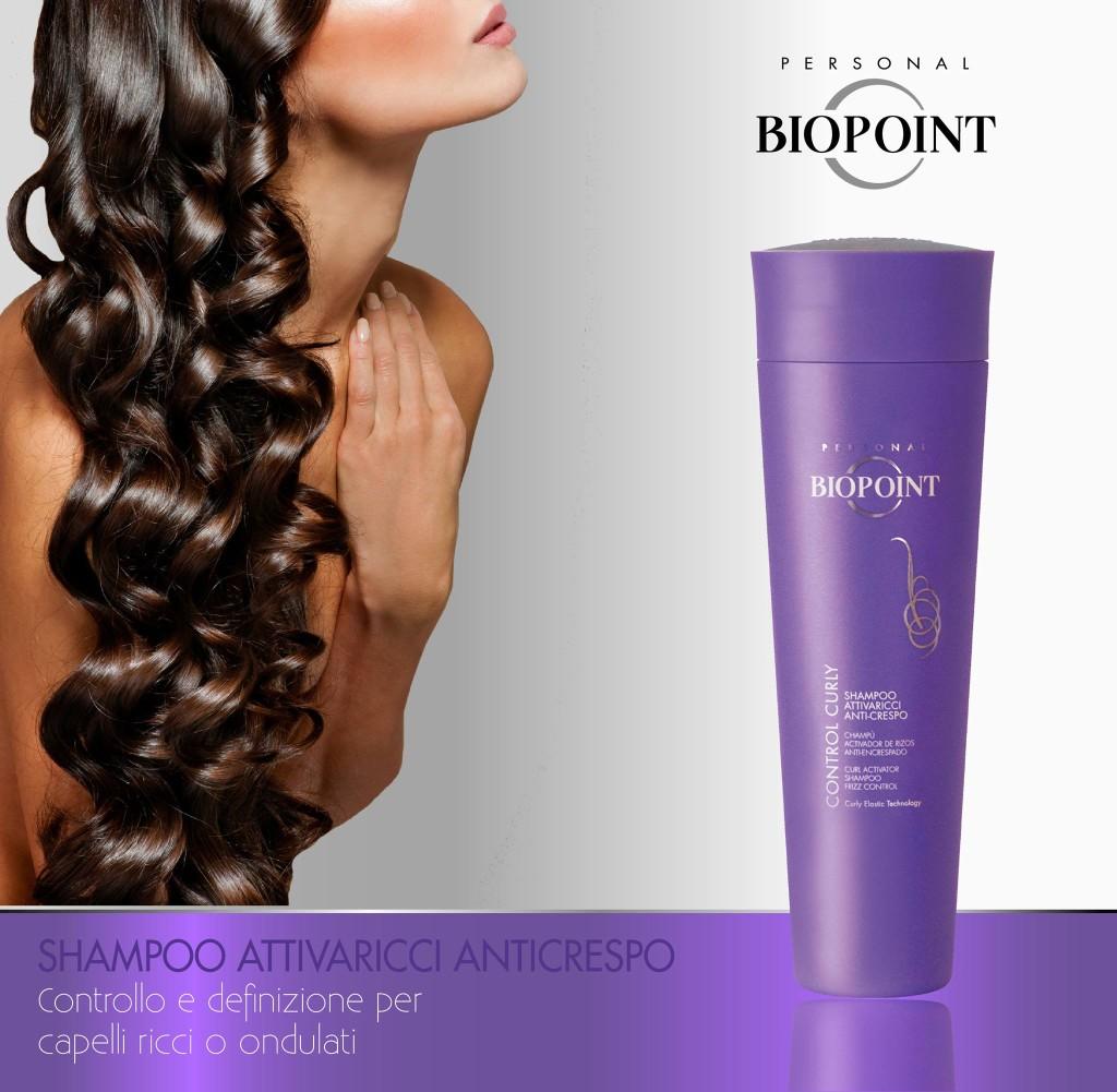Shampoo Biopoint  Attivaricci Anticrespo