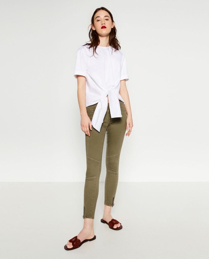 Camicia con fiocco - Zara P/E 2016.