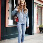 Jeans e dettaglio eccentrico: scarpe