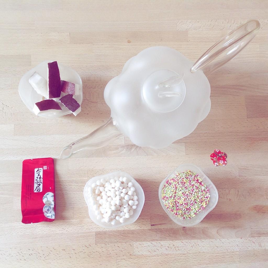 Il Bubble Tea è una colazione sana e nutriente.