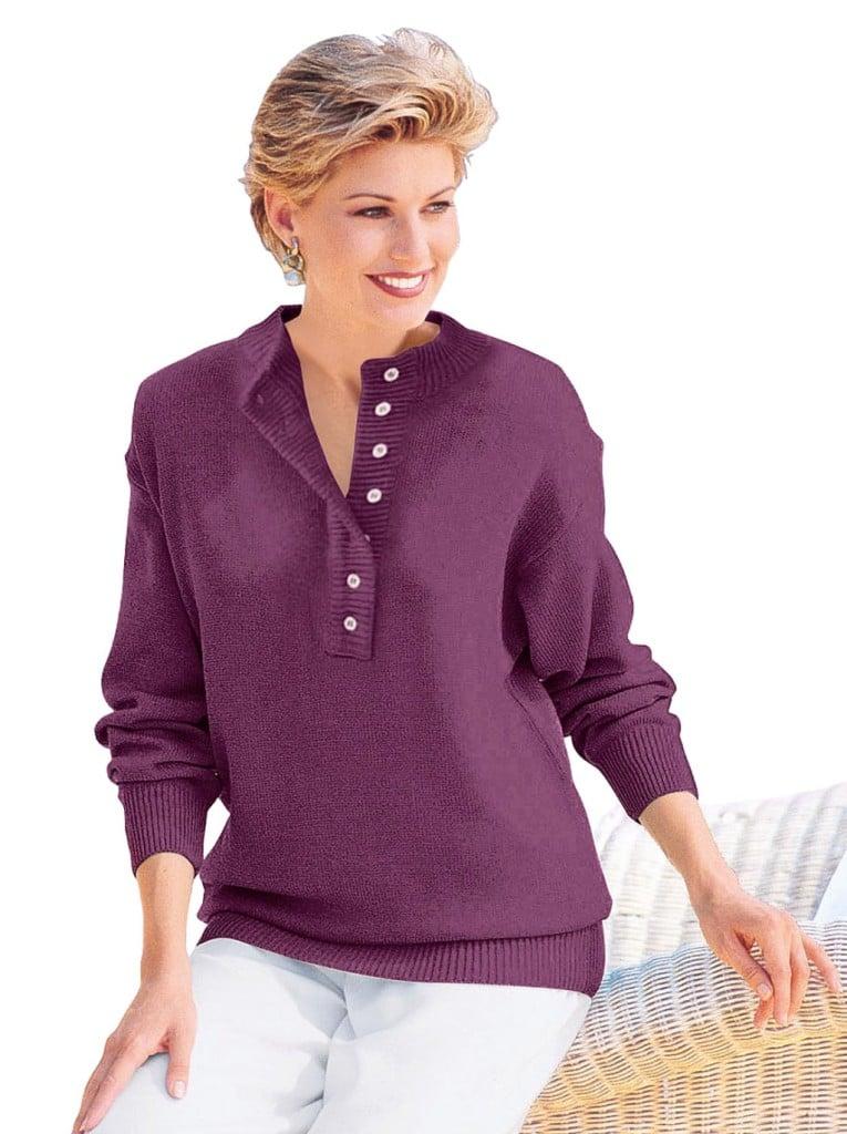 Moda Vilona pullover abbottonato
