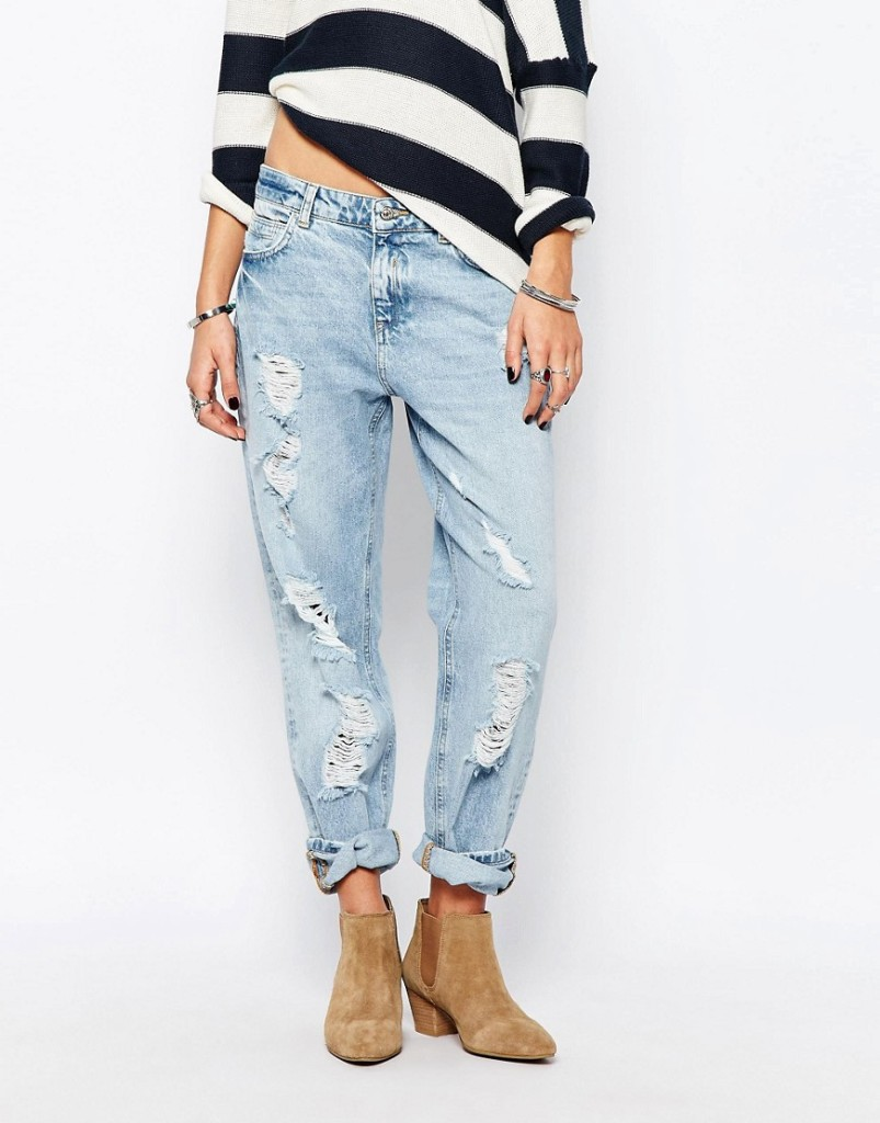 Pimkie Jeans candeggiati e strappati (Asos)