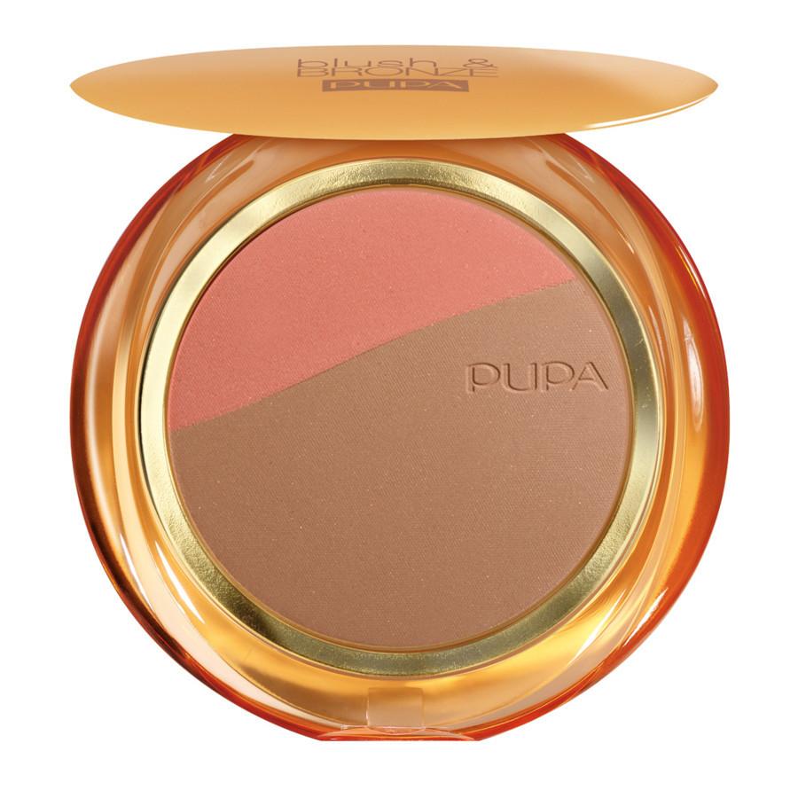 Pupa Blush&Bronze - 02 Apricot Gold