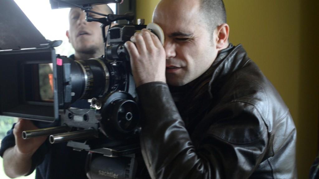 Il regista Gianclaudio Cappai, alla prova con il suo primo lungometraggio.