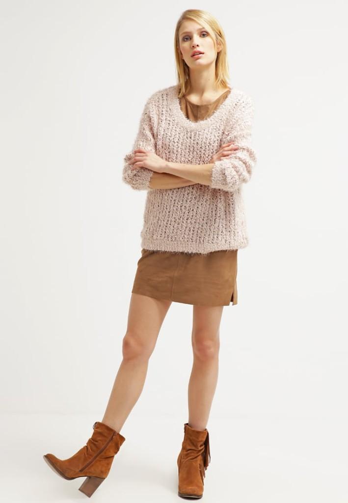 Outfit vestito di maglina toffee edc by Esprit (Zalando)