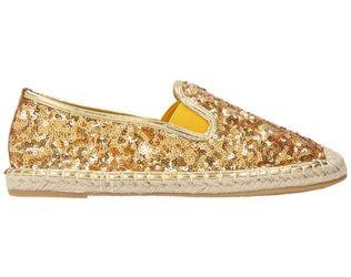 Prima Donna Espadrillas glitter in oro