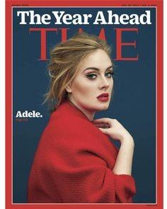 Adele sulla copertina del Time, il suo look sofisticato non passa mai di moda. Foto pagina ufficiale Facebook Adele