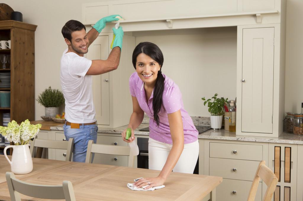 Le istruzioni e i consigli per avere una casa linda e splendente