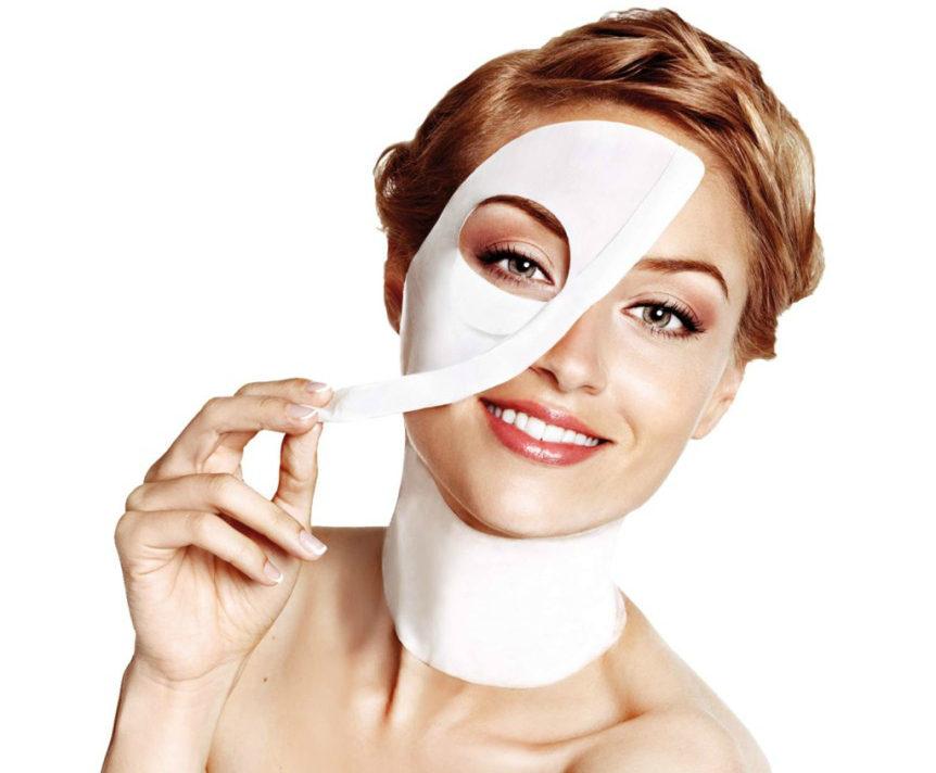 Maschere viso in tessuto - crediti Iroha