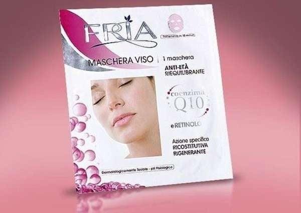FRIA Maschera Anti-Età riqulibrante con Retinolo e Q10