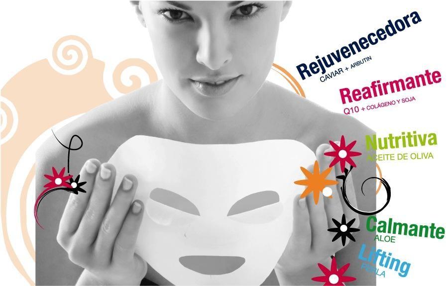 Maschere viso in tessuto -| crediti Iroha