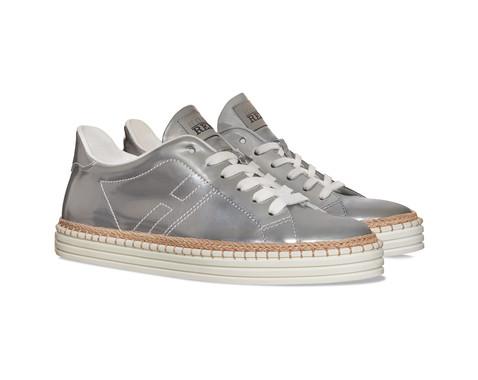 Hogan sneakers argentate