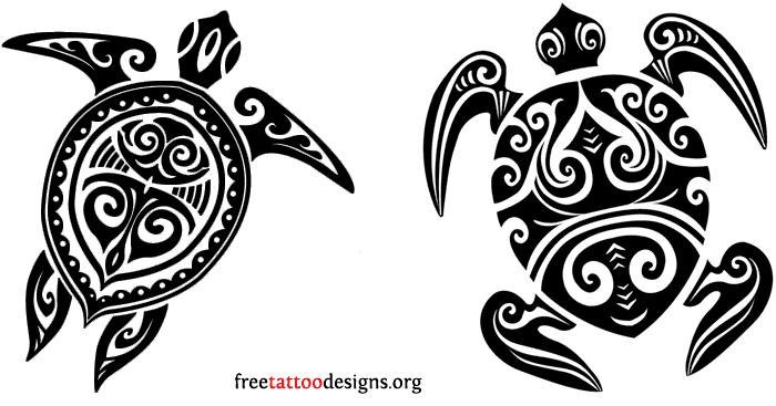 La tartaruga maori è uno degli animali più longevi, così come l'amore per la famiglia. Foto di freetattoodesign