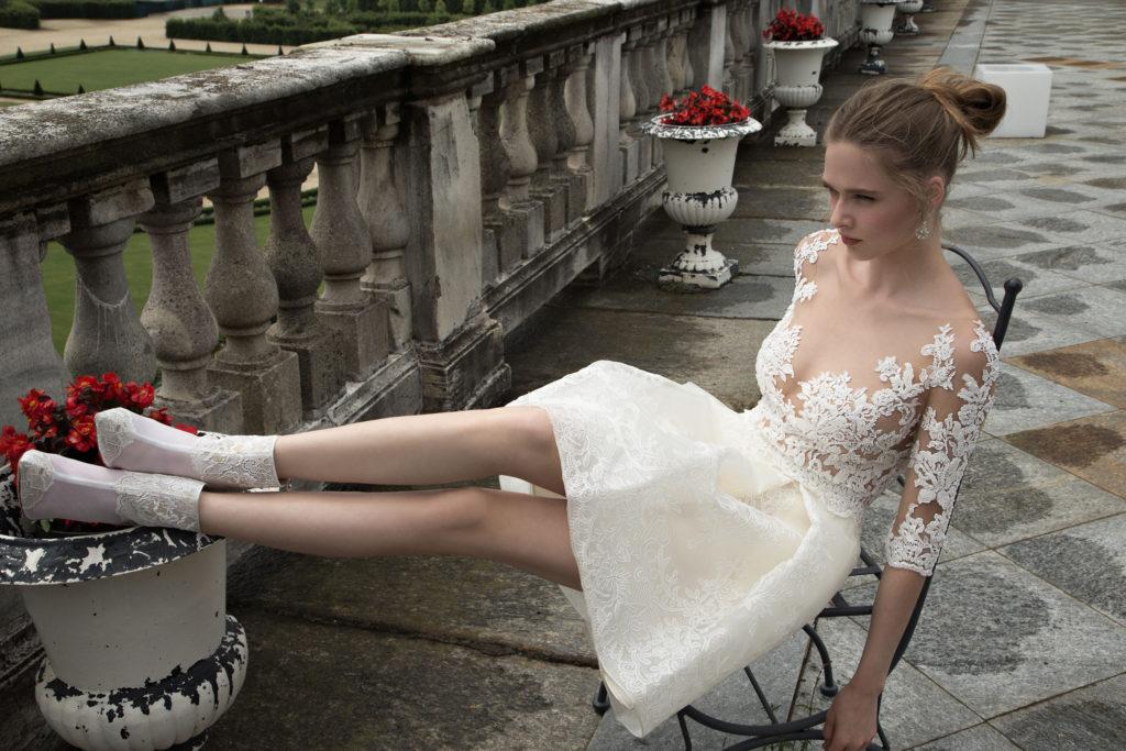Abito da sposa corto Alessandra Rinaudo - Collezione 2016 - Modello Tamara