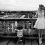abito sposa in pizzo ed effetto tatto