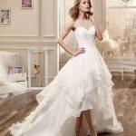 abito da sposa doppia lunghezza