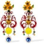 Dolce e Gabbana orecchini lampadario