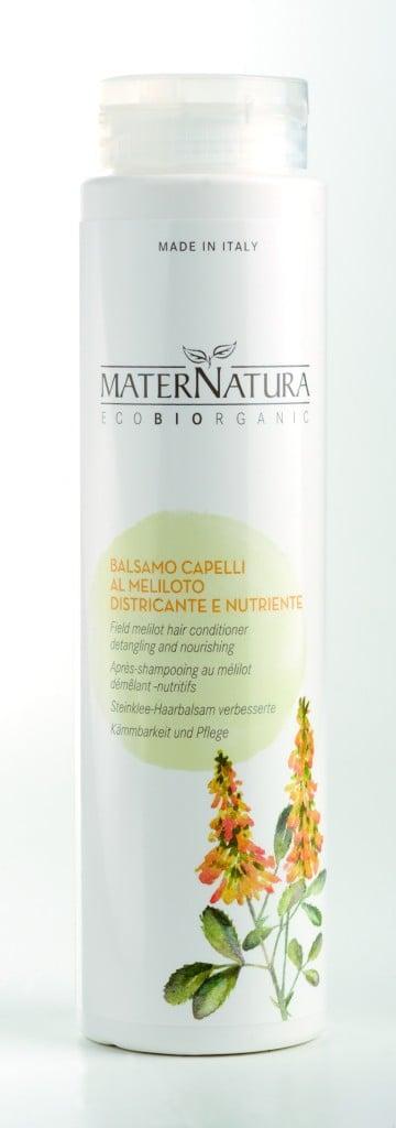 Maternatura Balsamo Capelli al Meliloto Districante e Nutriente