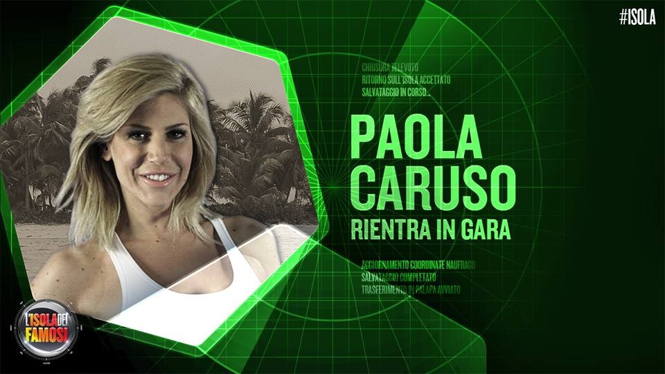 Paola Caruso perde la sfida al televoto con Marco Carta ma poi rientra in gioco per la finale di lunedì prossimo