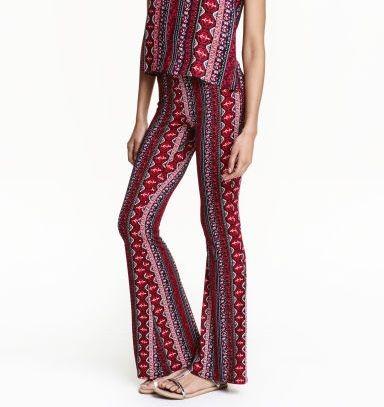 H&M pantaloni zampa