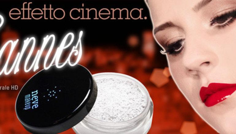 Cipria Cannes di Neve Cosemtics: effetto cinema sulla pelle
