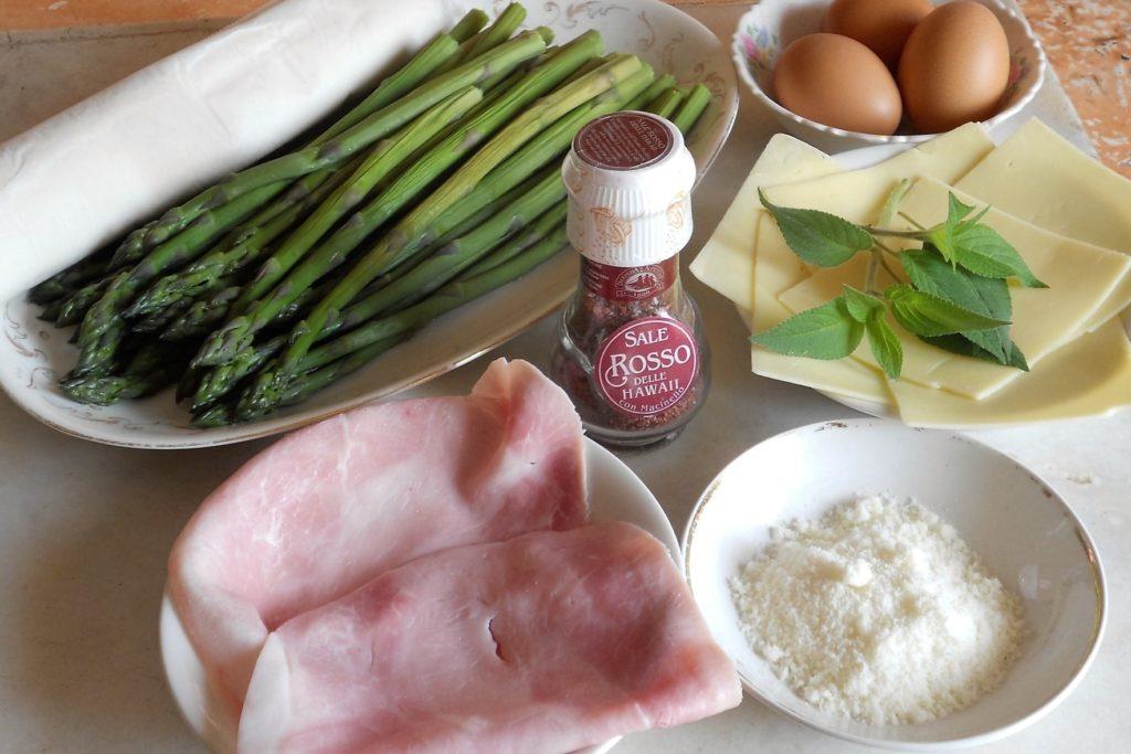 torta salata con asparagi e salvia ananas 1