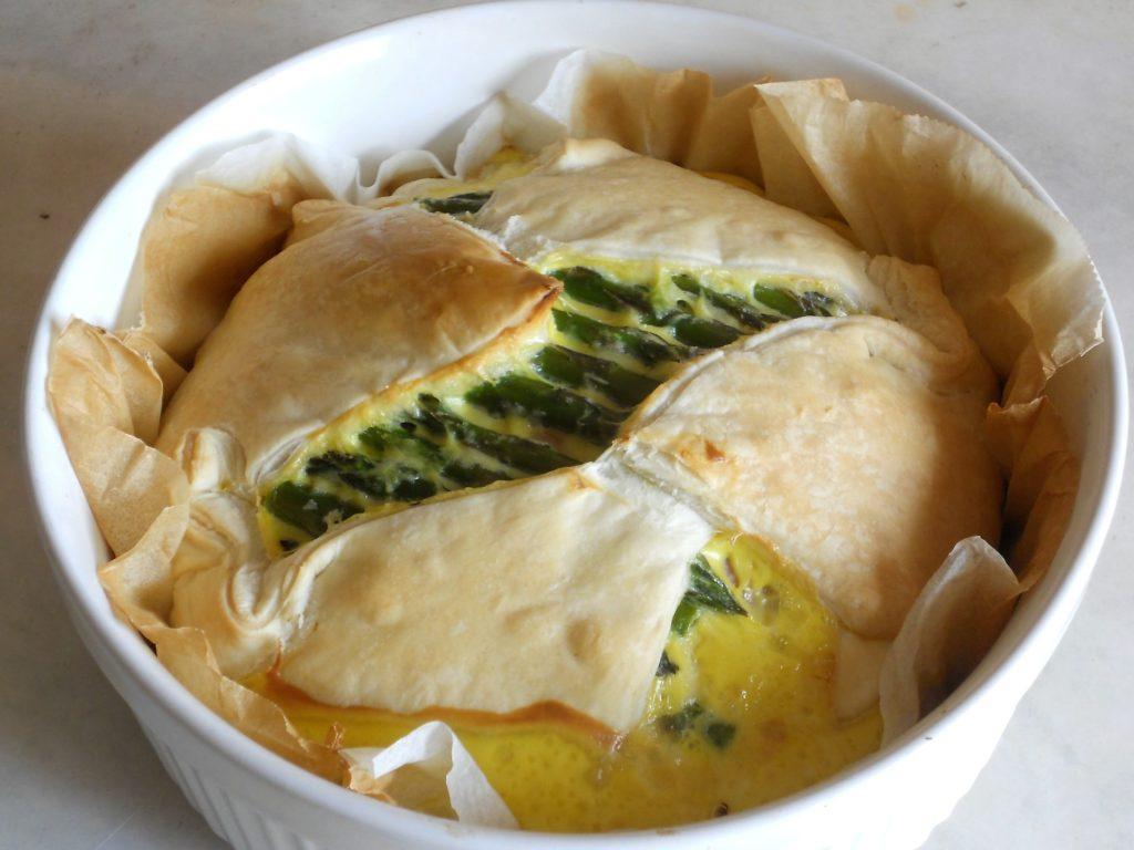 torta salata con asparagi e salvia ananas 11