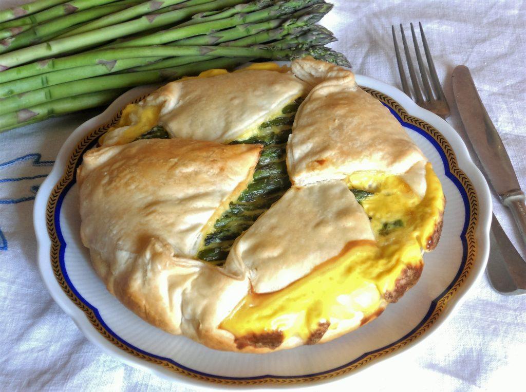 torta salata con asparagi e salvia ananas 12