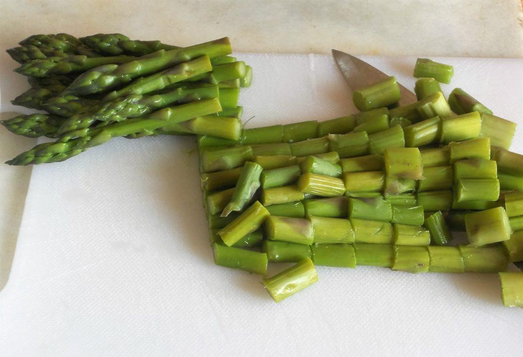 torta salata con asparagi e salvia ananas 2