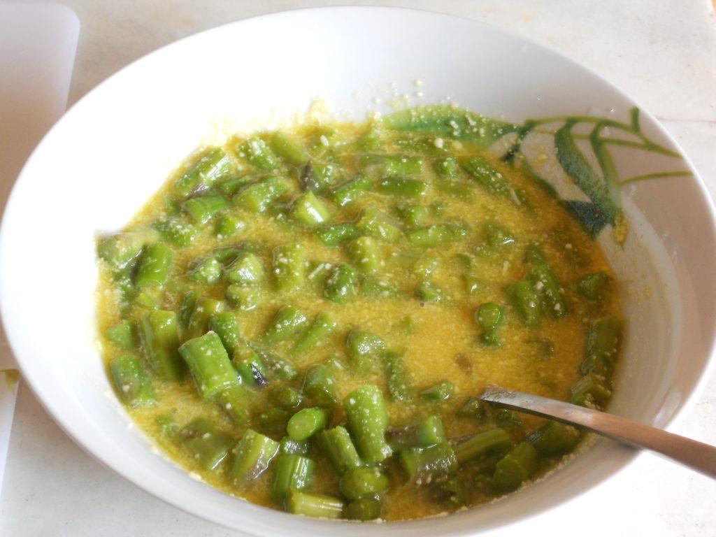 torta salata con asparagi e salvia ananas 3