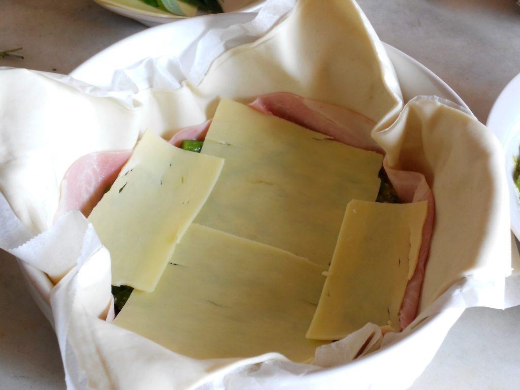 torta salata con asparagi e salvia ananas 6