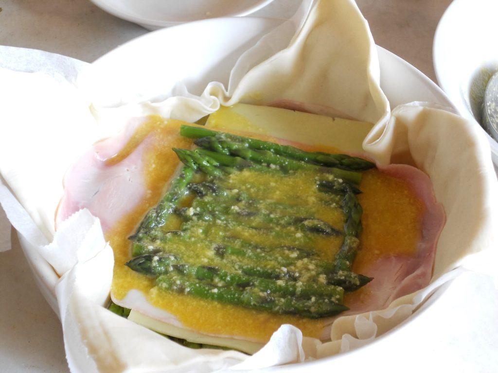 torta salata con asparagi e salvia ananas 9