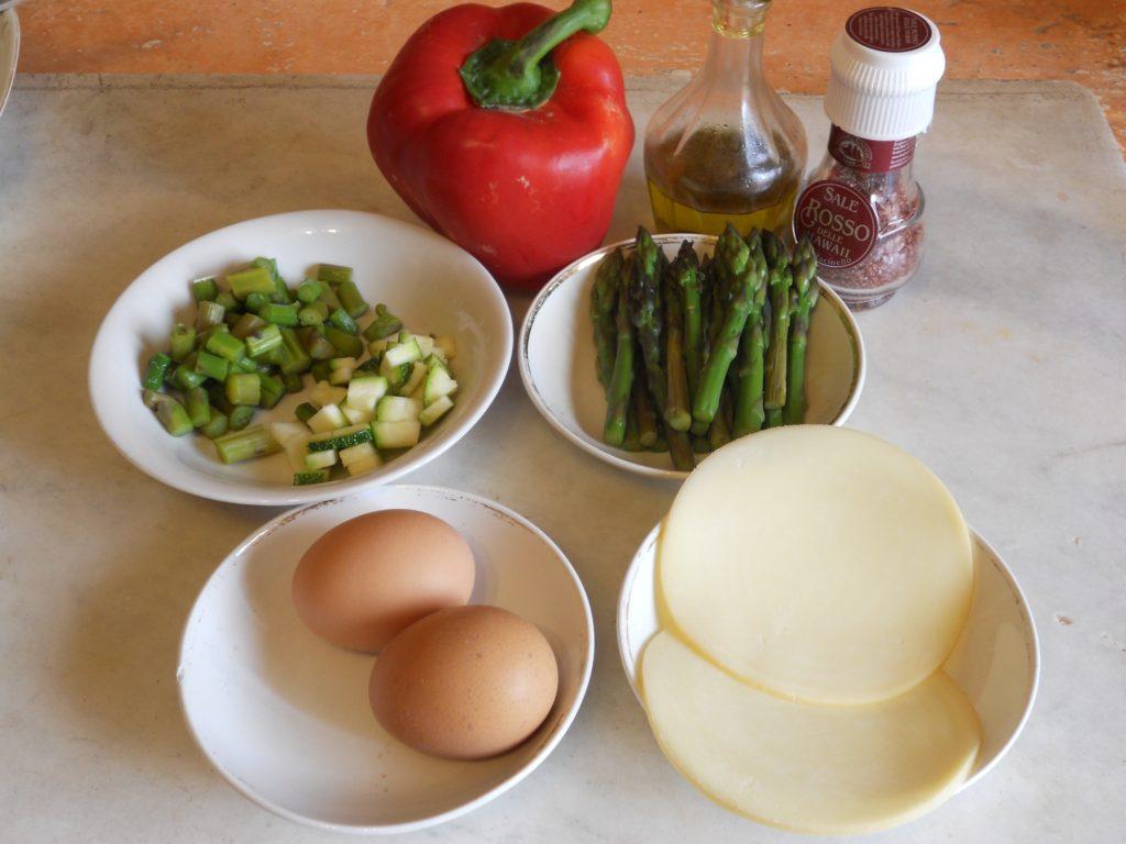 uova e asparagi nel peperone 1