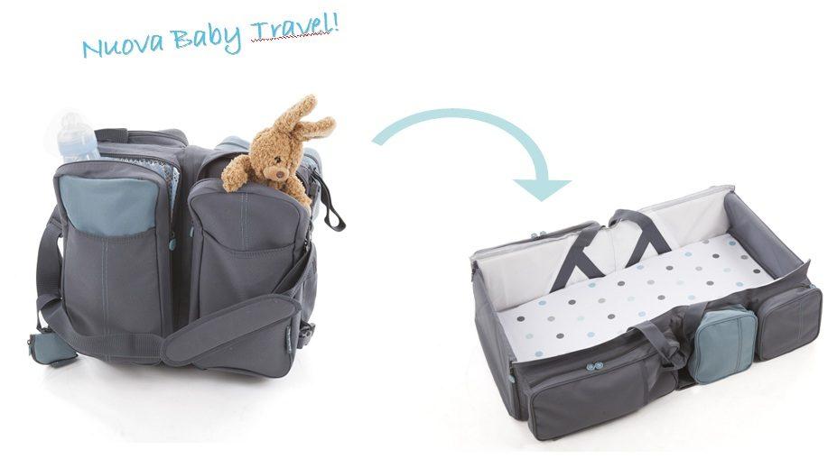 Borsa fasciatoio e culla della Delta baby ideale per i viaggi