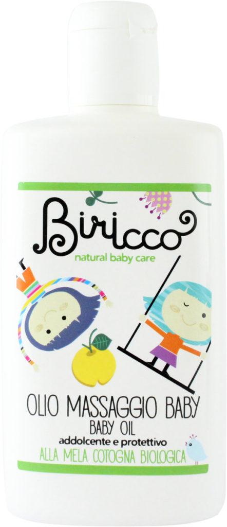 olio per massaggio Delicato  on mela cotogna bio Biricco