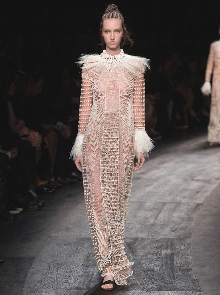 Abito collezione Cady ed Embroideries by Valentino.
