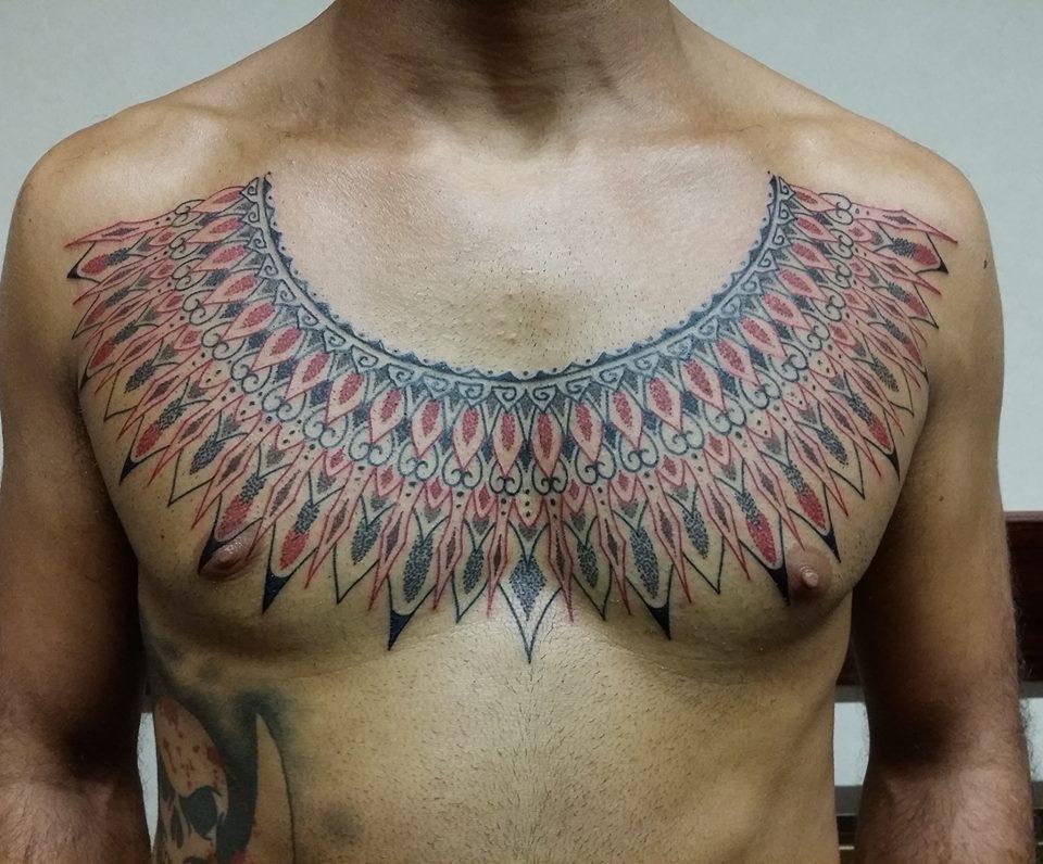 Tribali – Claudio Comite (Immagine tratta da Milano Tattoo Convention 2016)