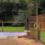 Colonna doccia Collezione Outdoor di Ludovica+Roberto Palomba Zucchetti.Kos prezzo su richiesta