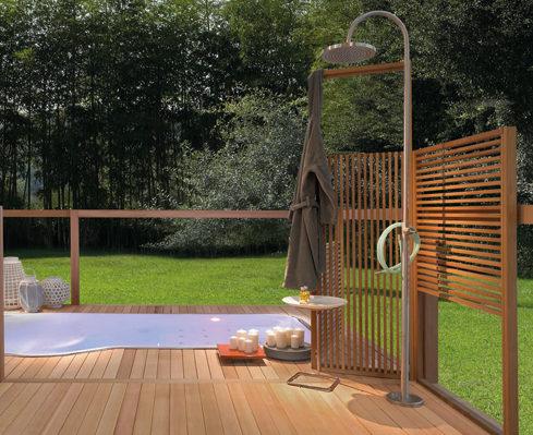 Un punto del giardino di vero relax