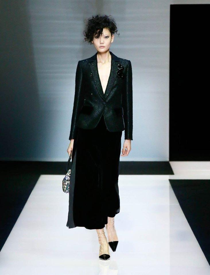 Completo gonna collezione Black Velvet by Armani.